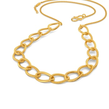 Bare Flair Gold Necklaces