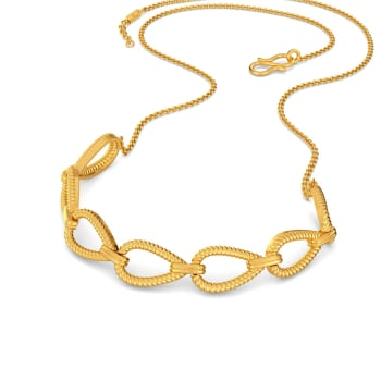 Blade Play Gold Necklaces