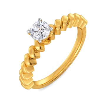 Lock with a Rock Diamond Rings