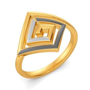 Power Meet Gold Rings