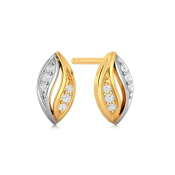 Bud Vizor Diamond Earrings