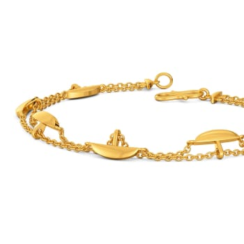 Arc Attack  Gold Bracelets