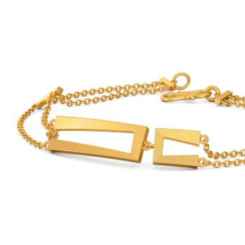 Out of the box Gold Bracelets