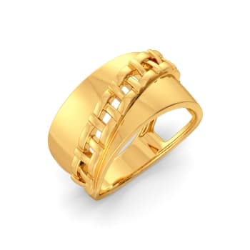 The Plaid Play Gold Rings