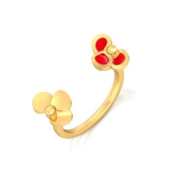 Tropic of Rose Gold Rings