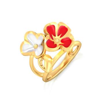 Retro Rose Gold Rings