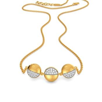 Pill Drill Diamond Necklaces