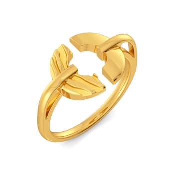 Catzmatazz Gold Rings