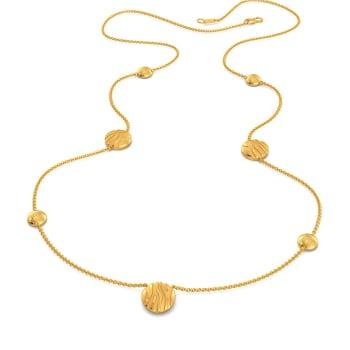 Stripe Kingdom Gold Necklaces