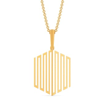 Extra Extravagant Gold Pendants