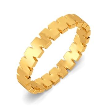 Mega Omega Gold Rings
