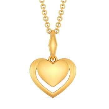 Amour Français Gold Pendants