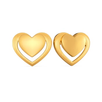 Amour Français Gold Earrings