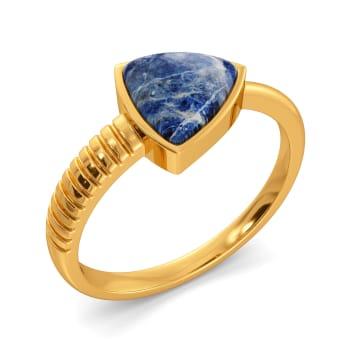 Hippie Denim Gemstone Rings