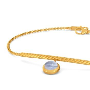Speckled in Blue Gemstone Bracelets