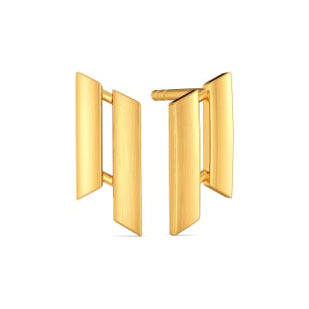 French Finesse Gold Earrings