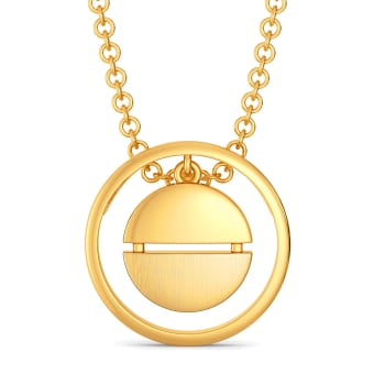 French Formals Gold Pendants