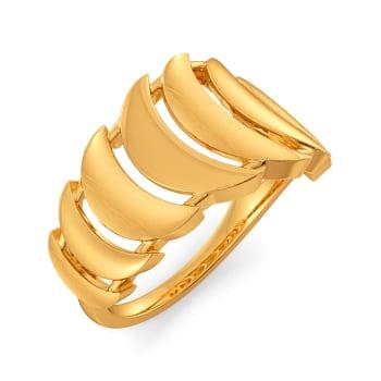 70s Splendour Gold Rings