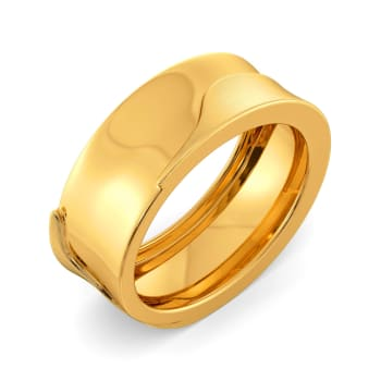 French Fashion Gold Rings