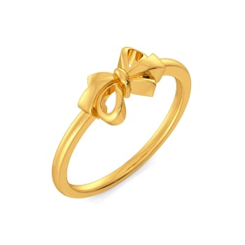 Knot Trot Gold Rings