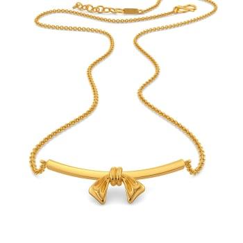 Saint Bows Gold Necklaces