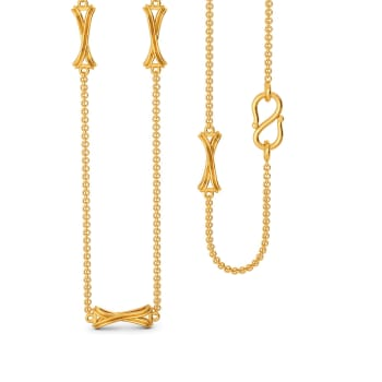 Knotty Binds Gold Chains