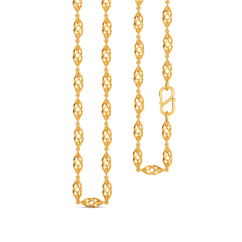 String A Loop Gold Chains