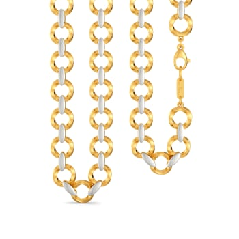 Whirly Waves Gold Chains