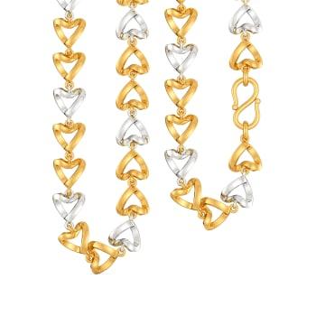 Heart Habitat Gold Chains