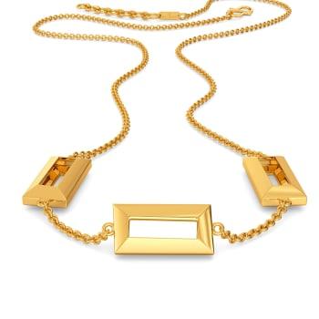 Team Work Gold Necklaces