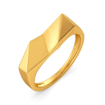 Fit Shaped Gold Rings