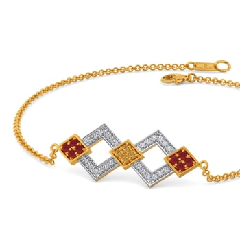 Colour Statement Gemstone Bracelets