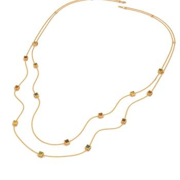 Colour Compliments Gemstone Necklaces