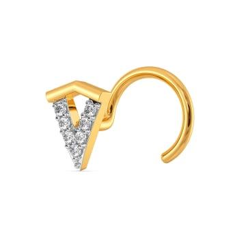 Edgy Ensemble Diamond Nose Pins