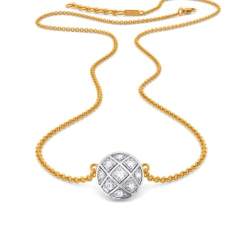 The Check Deck Diamond Necklaces