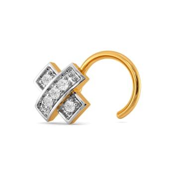 Plaid Pact Diamond Nose Pins