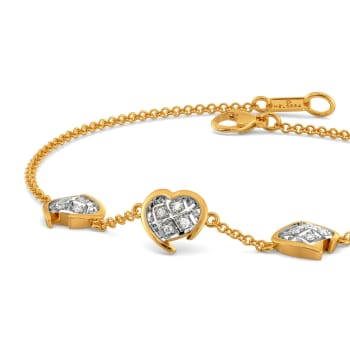 Checkered Love Diamond Bracelets
