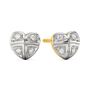 Gingham Desires Diamond Earrings