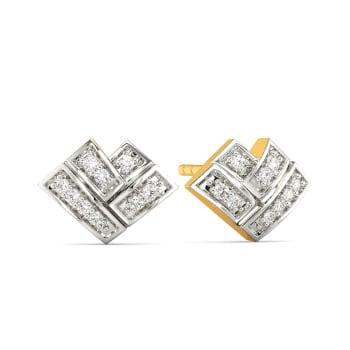 Love Graph Diamond Earrings