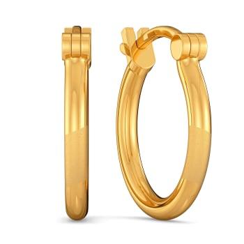 Sandy Suave Gold Earrings