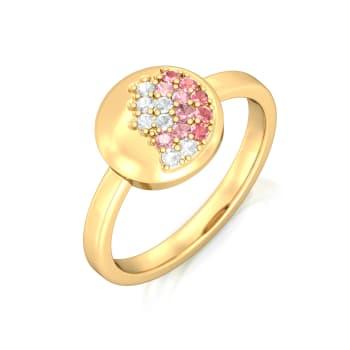 Pink Champagne Gemstone Rings