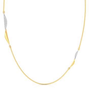The Twist Diamond Necklaces