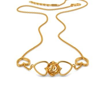Rebel Rose  Gold Necklaces