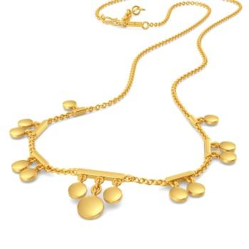 Disco Drama Gold Necklaces