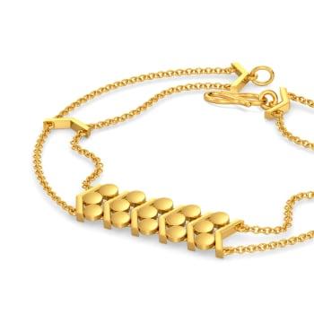 Glam N Glitter Gold Bracelets