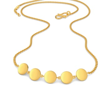 Coin Limbo Gold Necklaces