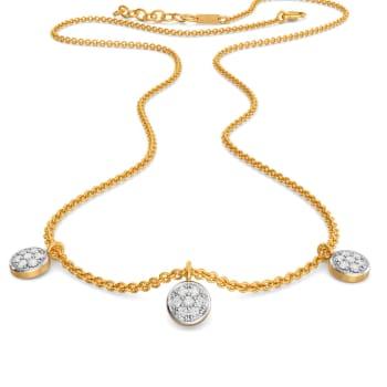 Coin Collector Diamond Necklaces