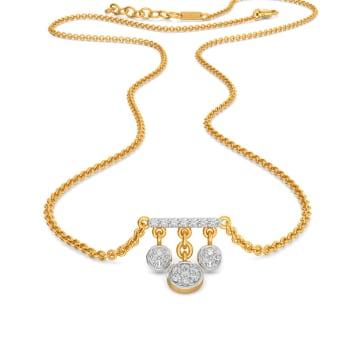 C Quins Diamond Necklaces