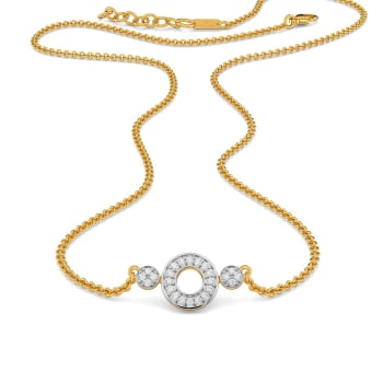 Disco Bistro Diamond Necklaces