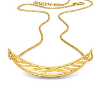 Doll Sprawl Gold Necklaces